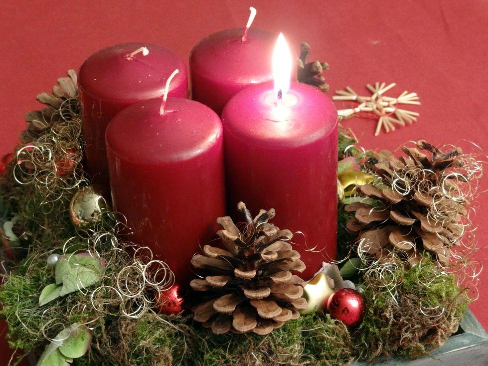 Advent, Advent, und alles rennt…