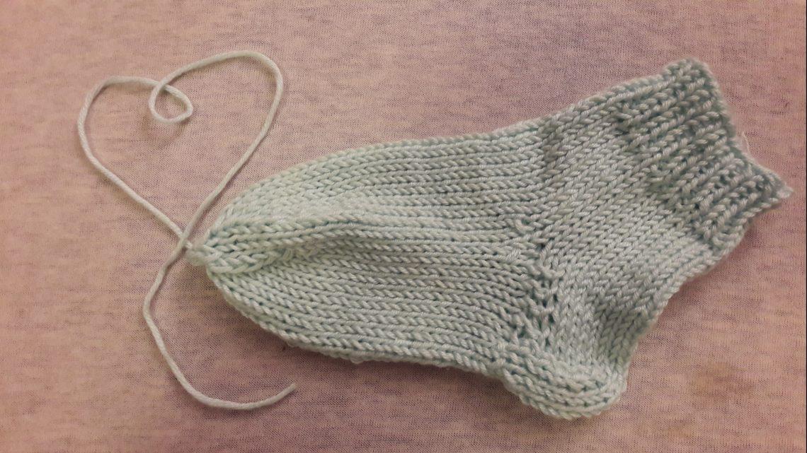 17. Türchen: Socken stricken 6